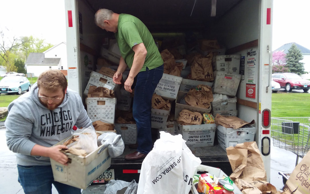 The Letter Carriers Food Drive Was a Huge Success!